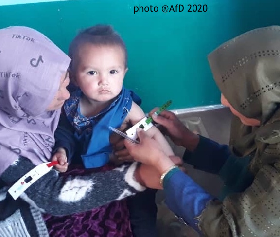 AfD's training features on Acute Malnutrition website